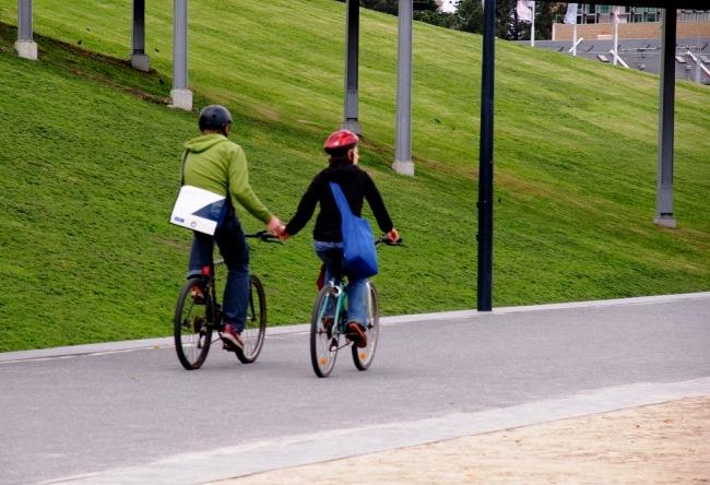 Велосипедисты на дорогах 5