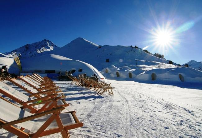 Горнолыжный курорт в Австрии Цель-ам-Зее 4