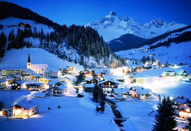 Горнолыжный курорт в Австрии Цель-ам-Зее 5