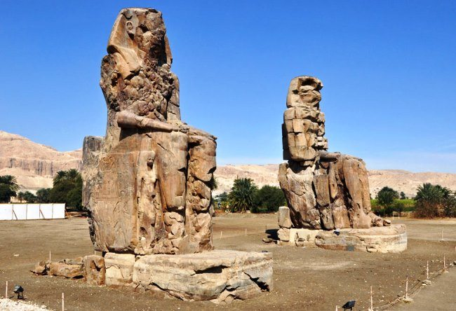 The Colossi of Memnon 2