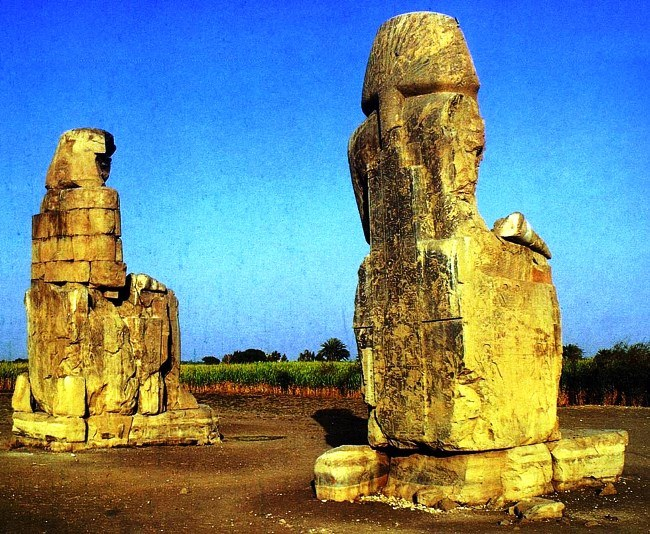 The Colossi of Memnon 3
