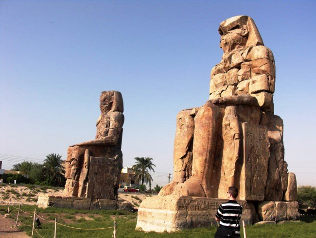 The Colossi of Memnon 4