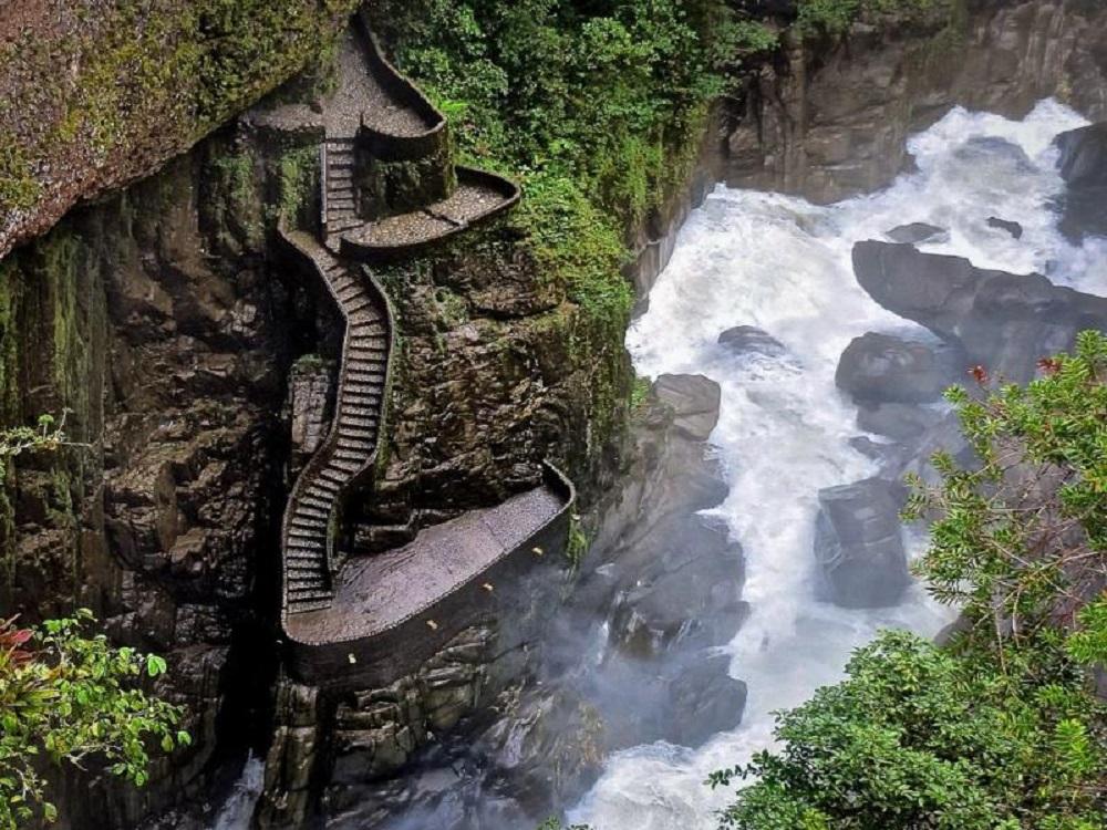 Водопад Пайлон дель Дьябло