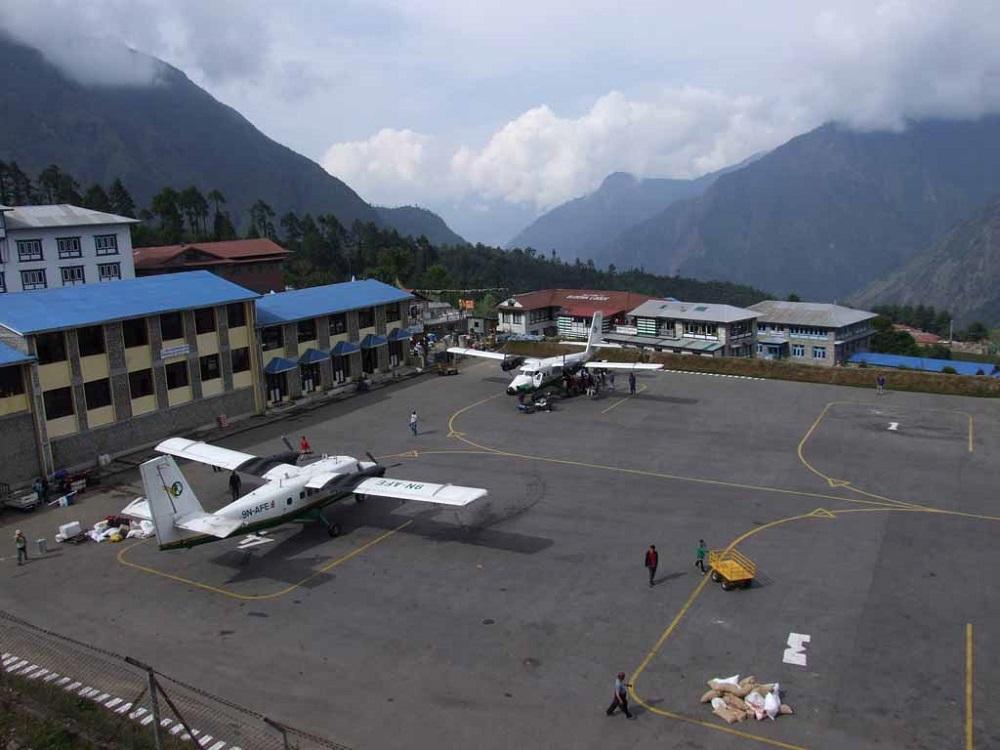 Аэропорт в Непале