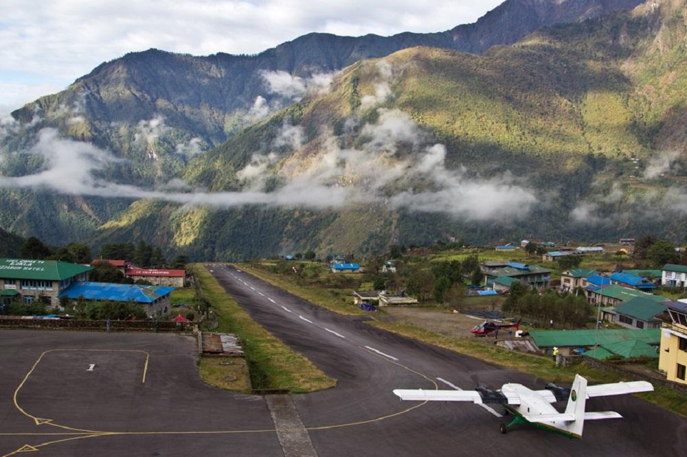 Аэропорт им. Тэнцига и Хиллари в Непале
