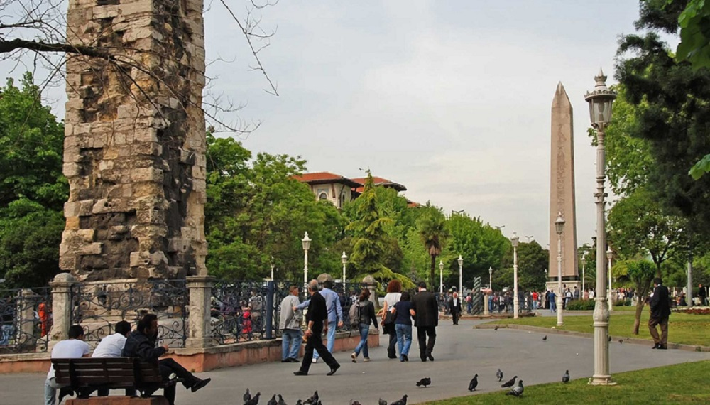 Главная площадь в Стамбуле
