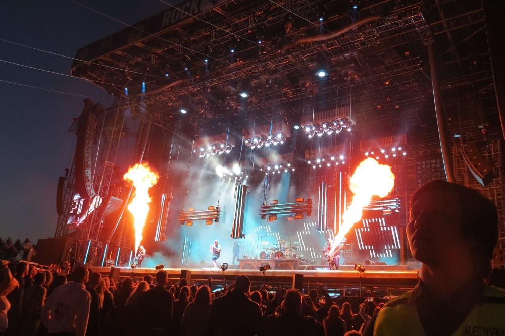 Рок-фестивали в стране