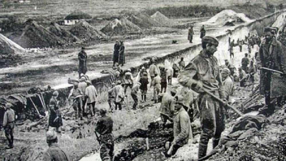 Старое фото Колымский тракт