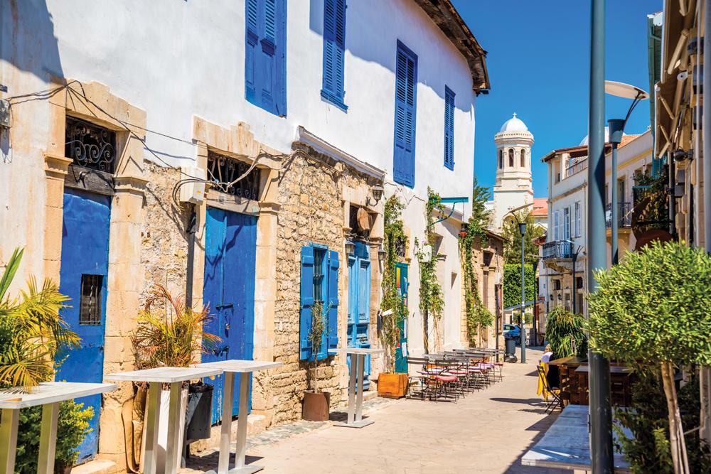 на Кипр осенью