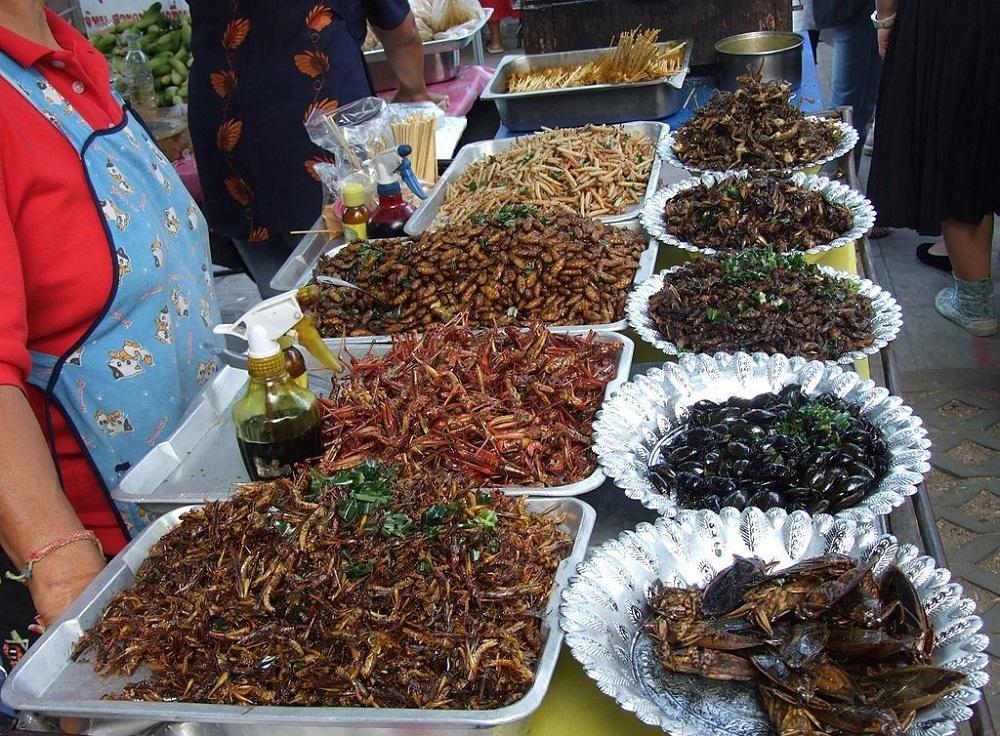 Рынки насекомых