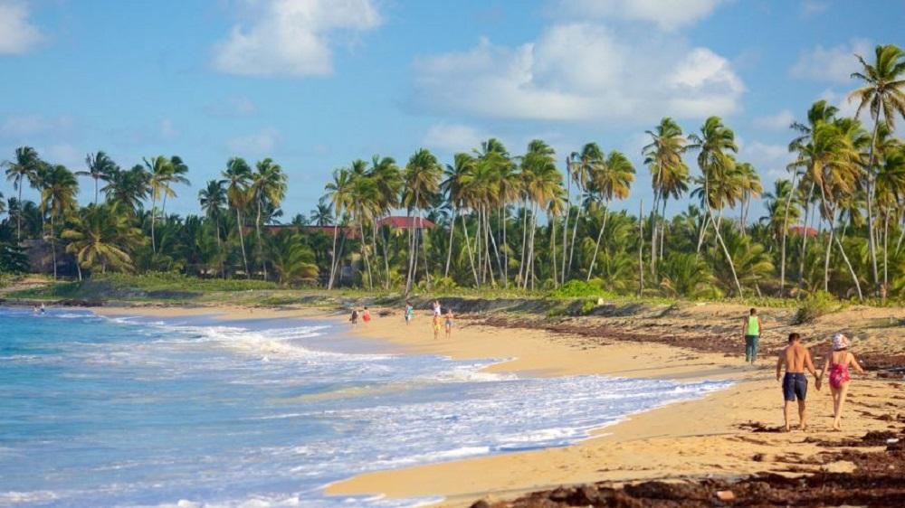 Уверо Альто – пляж
