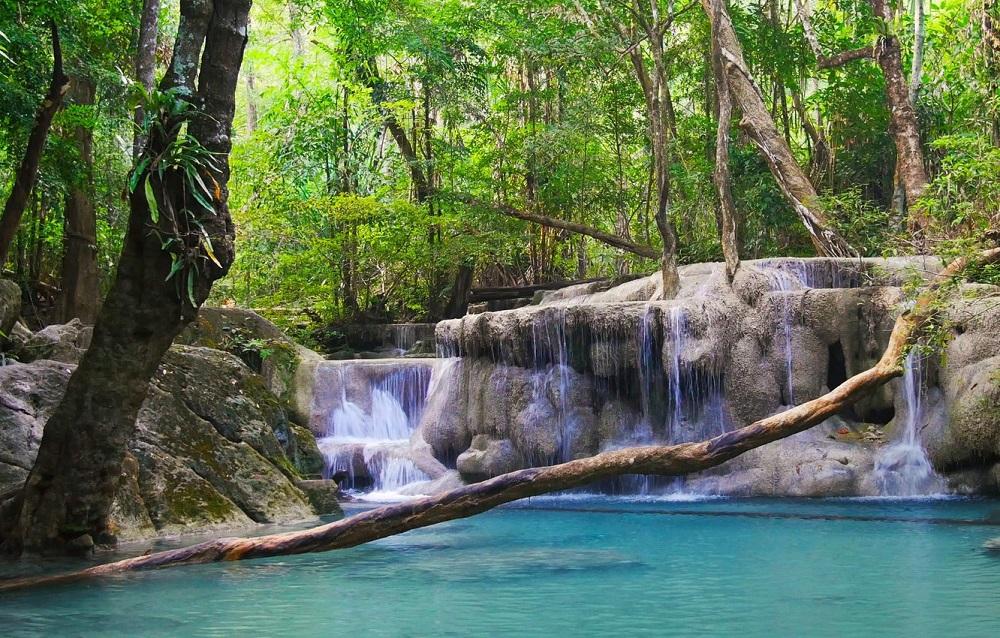 семикаскадный водопад Эраван