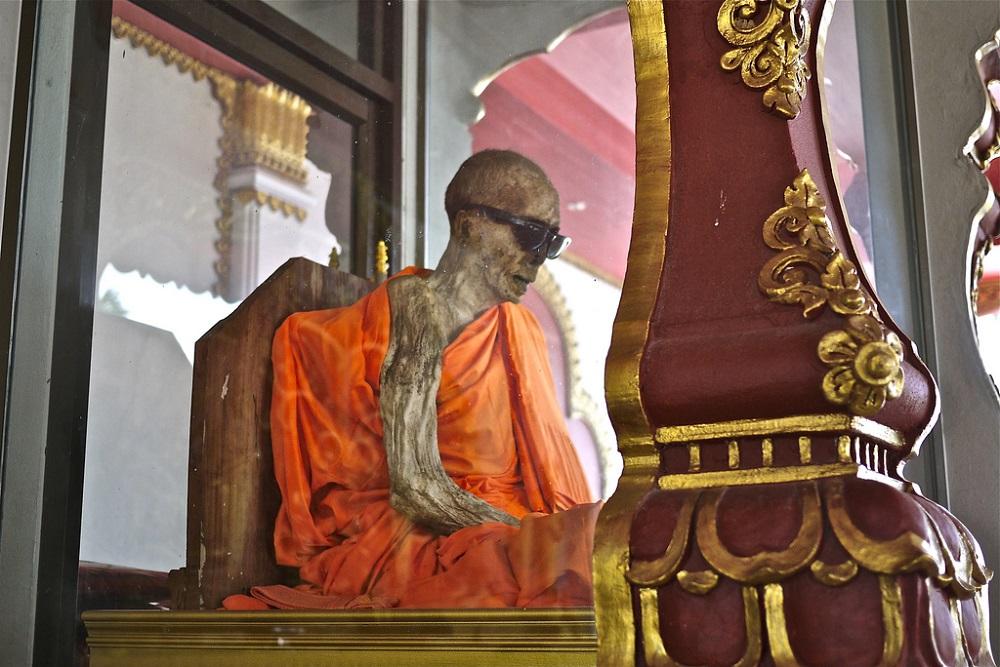 Мумифицированный монах