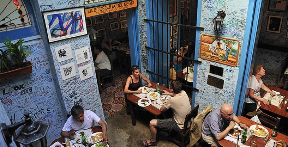 Кафе на Кубе