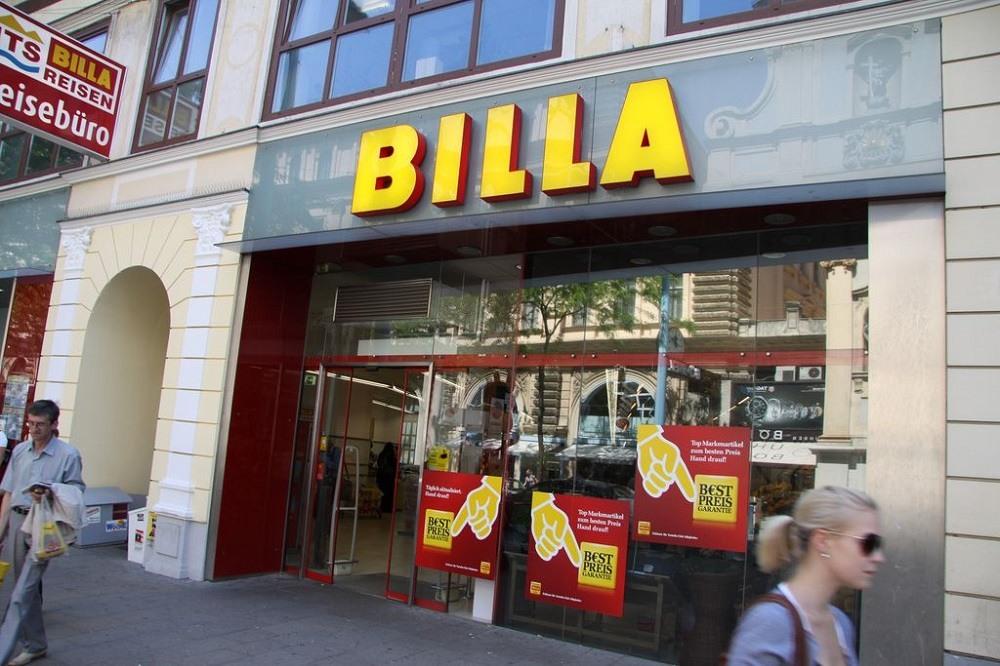 Билла в Австрии