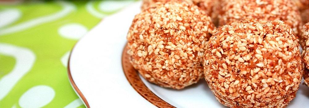Кавум – шарики из рисовой муки