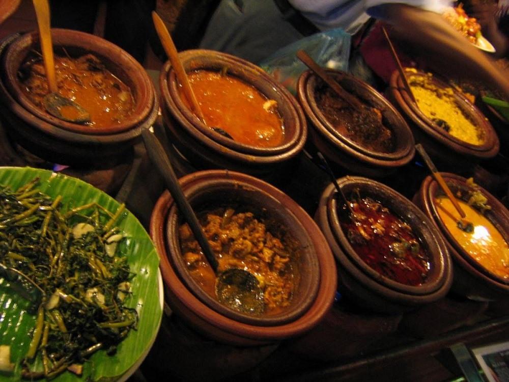 Шри-Ланка блюда