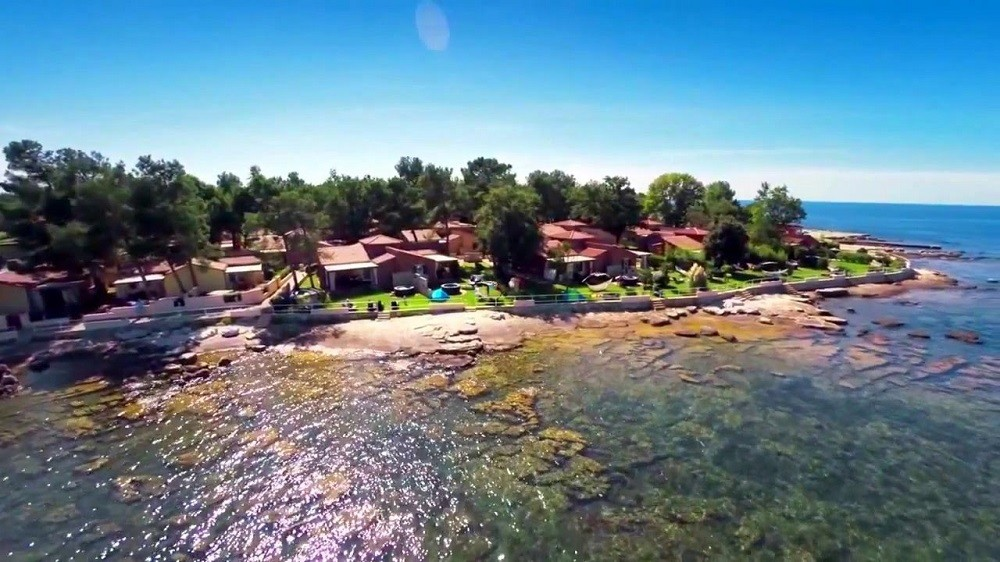 самый западный хорватский курорт