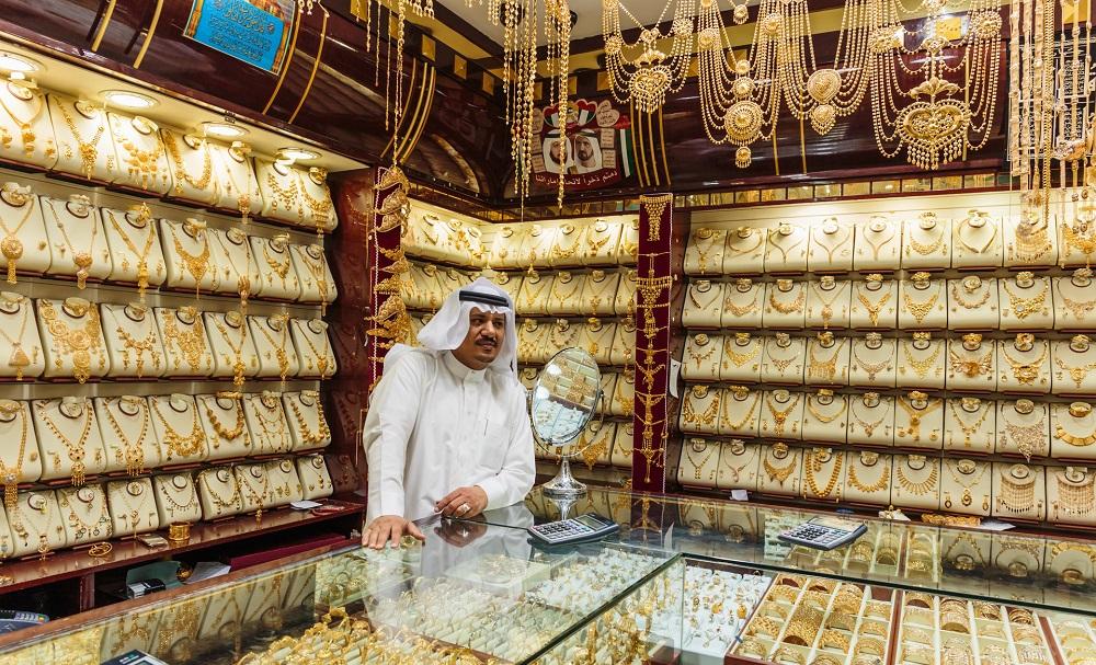 Дубай золотой рынок