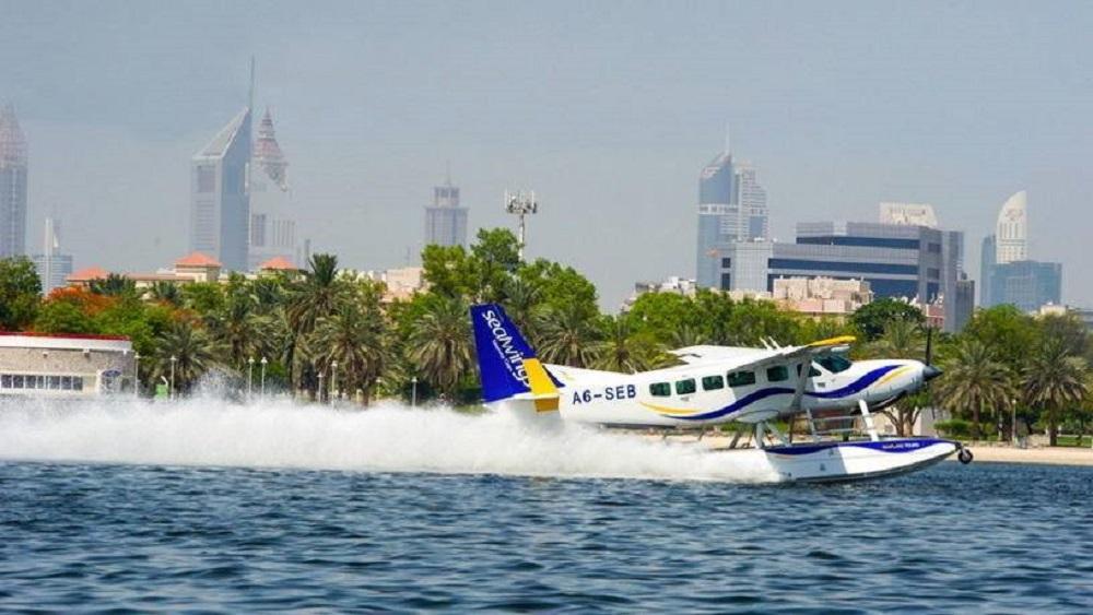 Из Абу-Даби в Дубай можно попасть на гидроплане