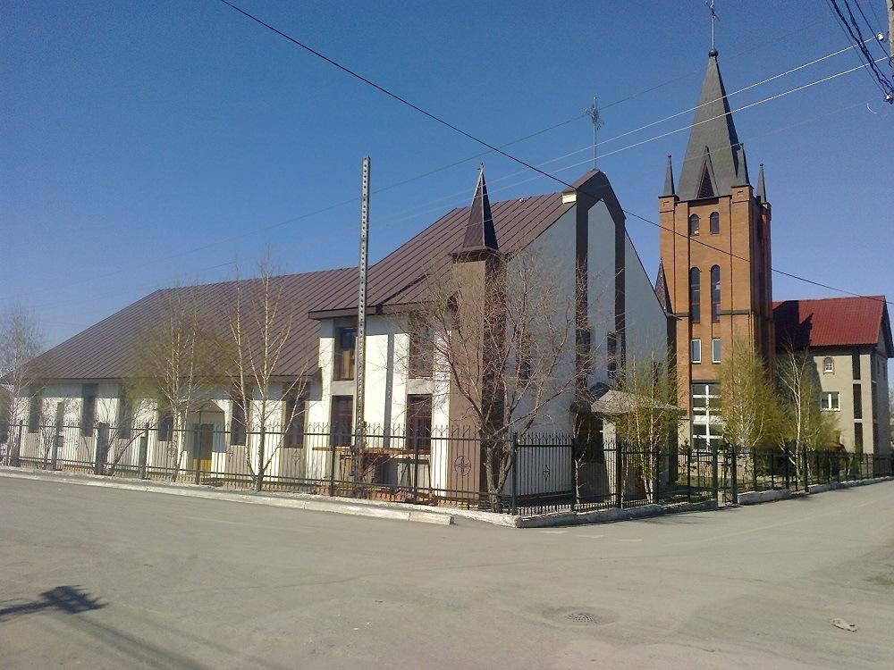 Церковь в Караганде