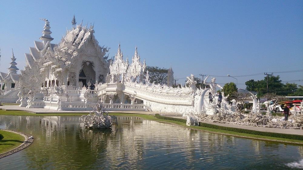 Чианг Май белый храм