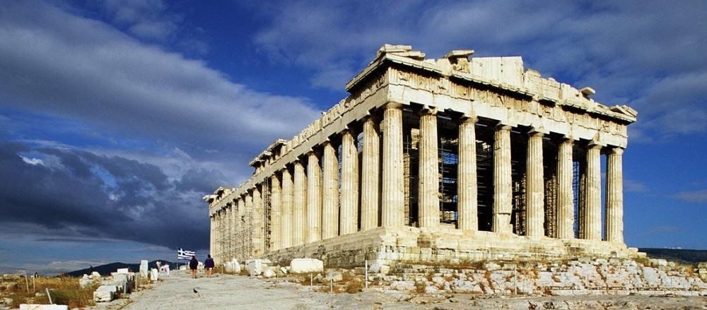 Акрополь античная Греция