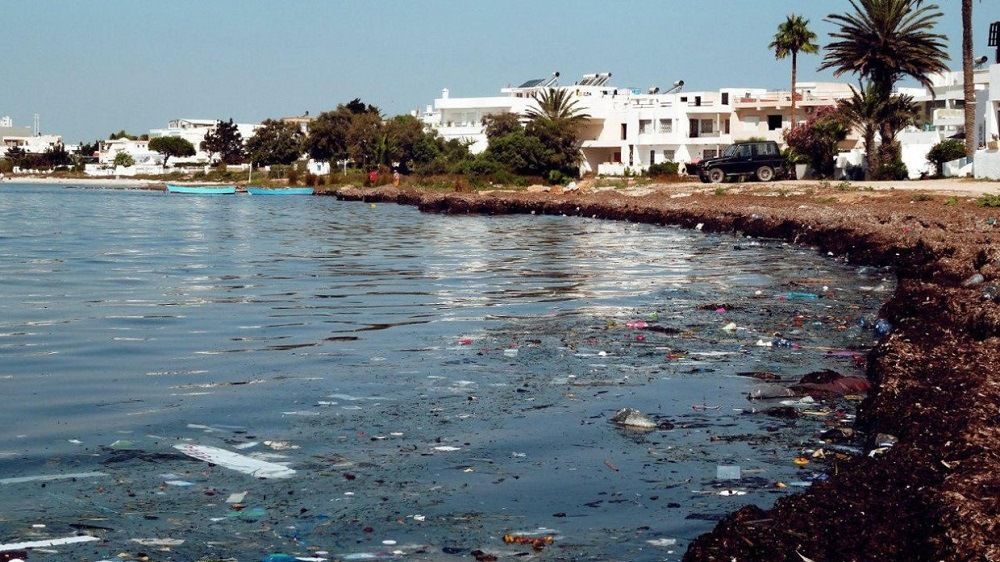 Тунис мусор