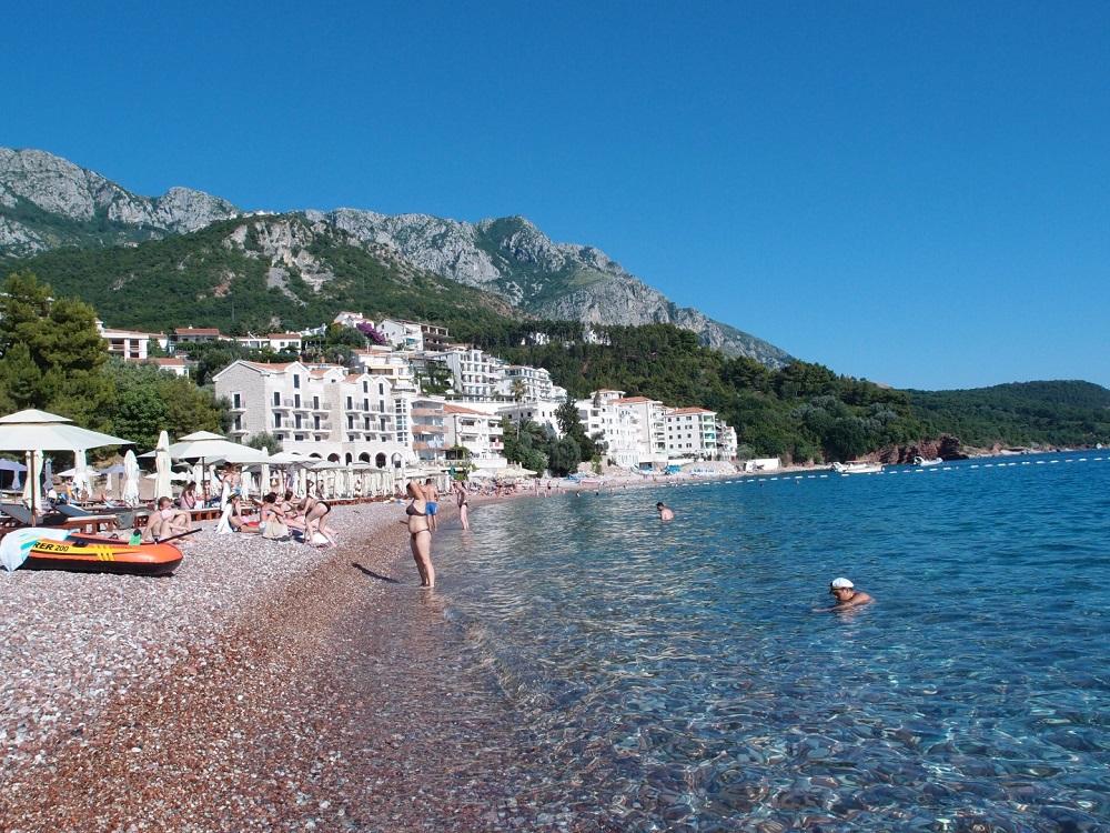 Черногория пляж