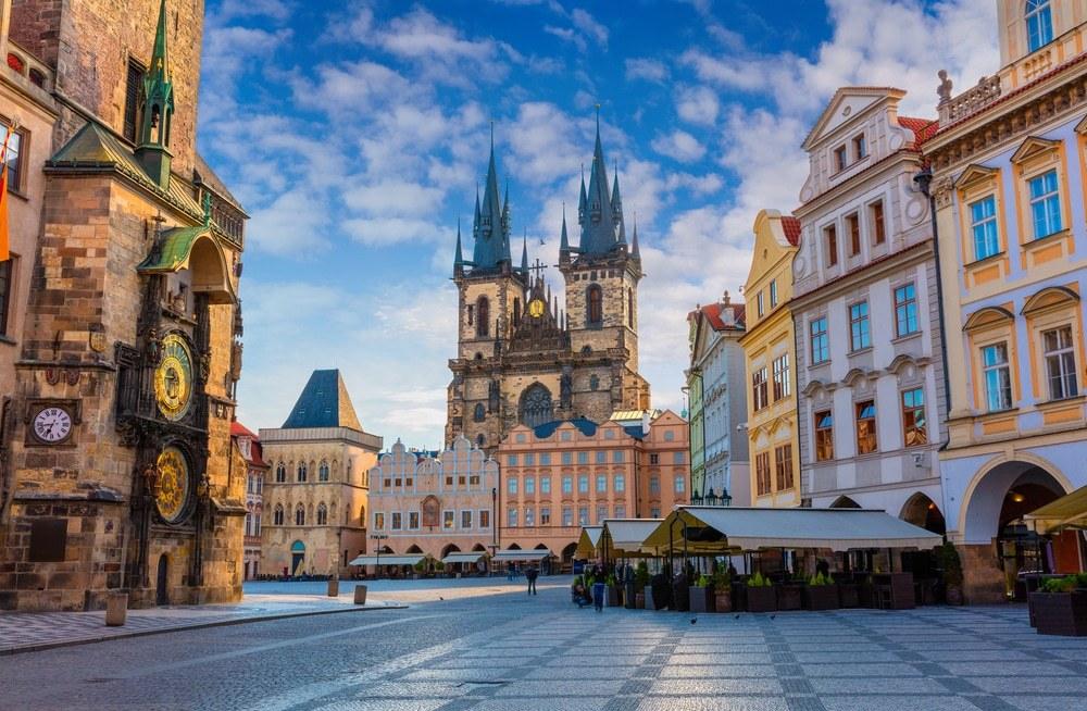 Прага центральная площадь