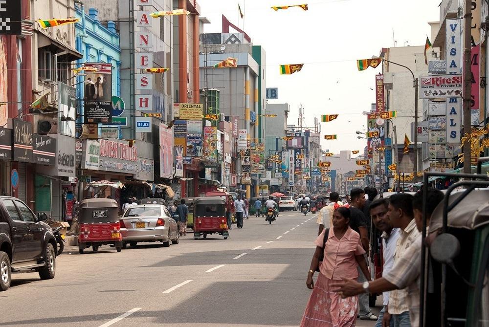 Город Коломбо Шри-Ланка