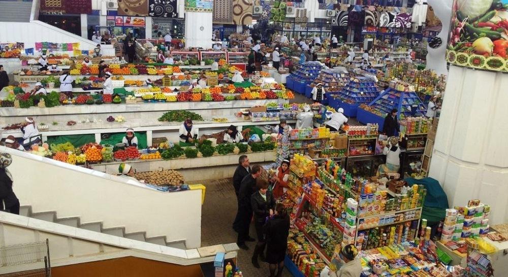 Рынок Ашхабада