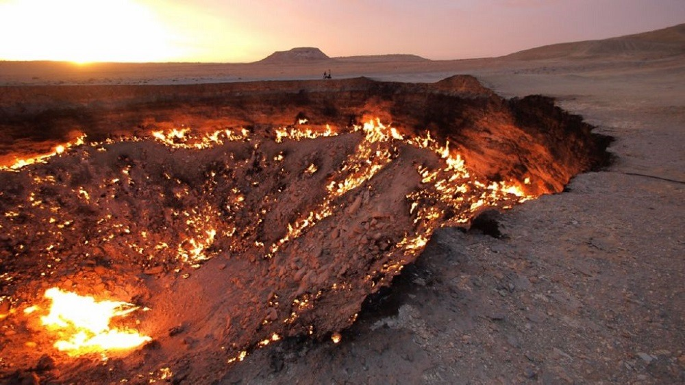 Врата ада Туркменистан
