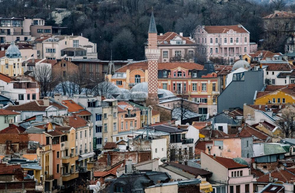 Город Пловдив Болгария