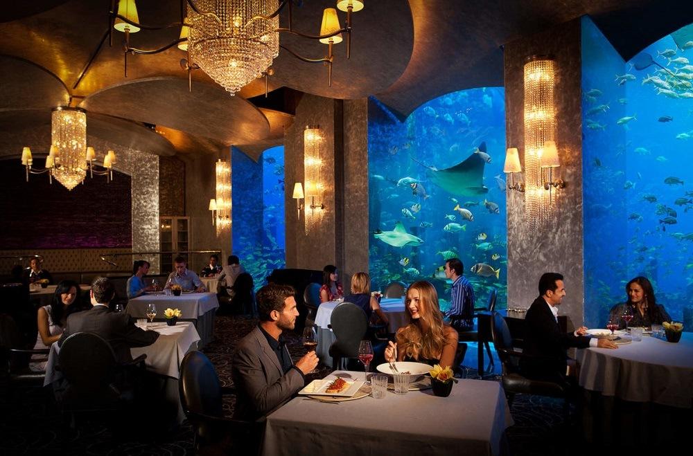 Цены Дубая в кафе