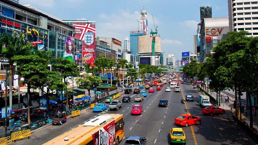 Улица Бангкок