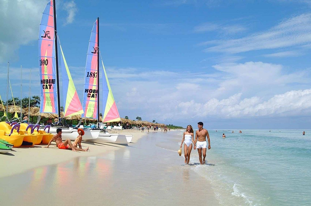 туристы на Кубе фото