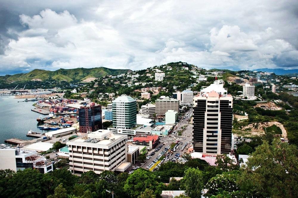 столица Порт-Морсби