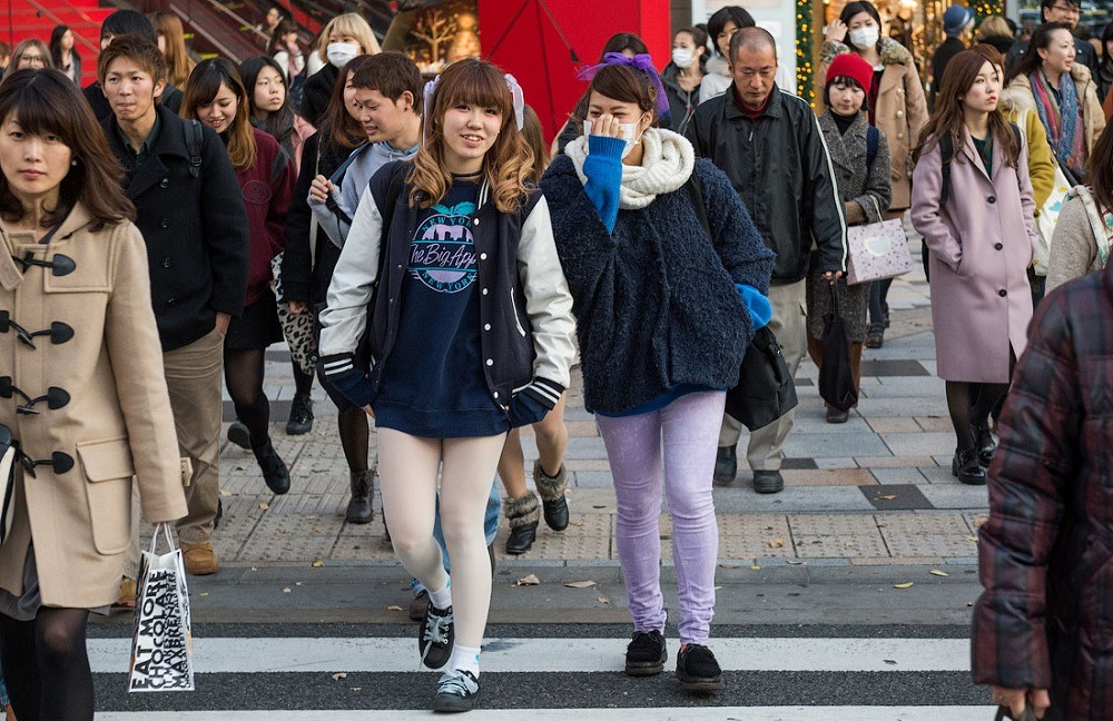 Японцам нельзя иметь лишний вес