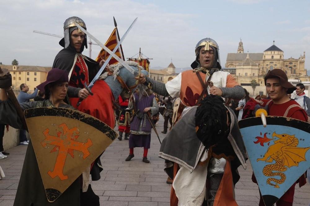 Средневековый праздник испанцев