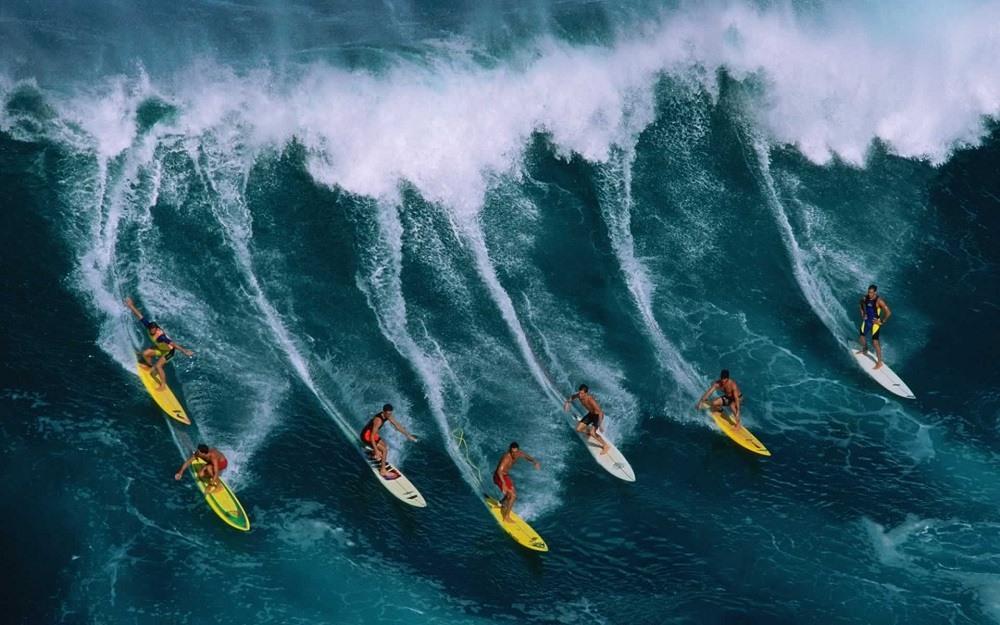 Серфинг – своеобразная изюминка Австралии