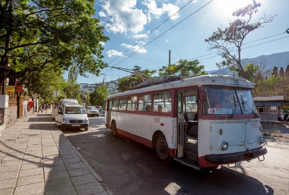 чехословацкие троллейбусы