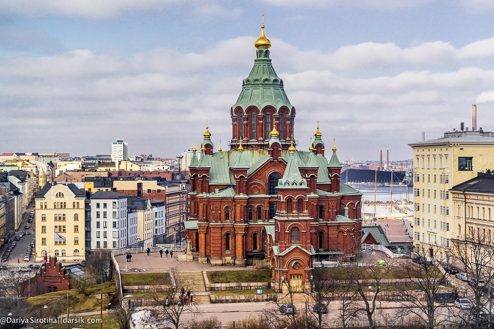 Хельсинки православная церковь