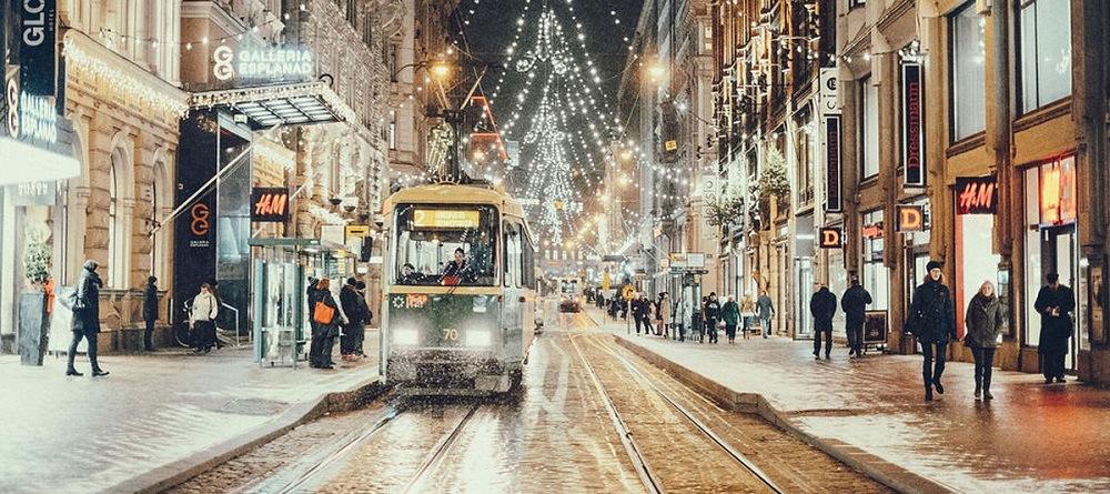Хельсинки зимой