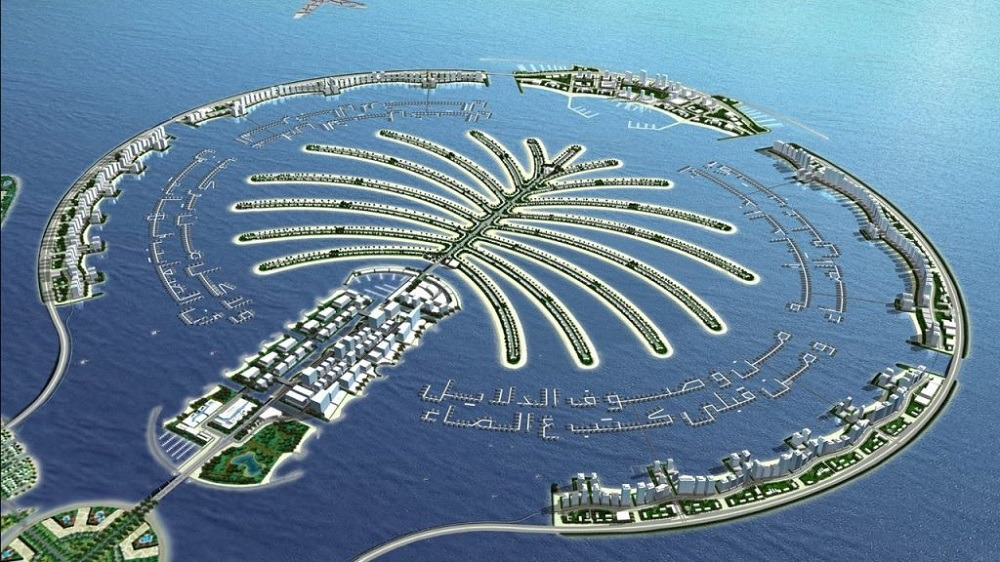 Дубай  искусственный остров