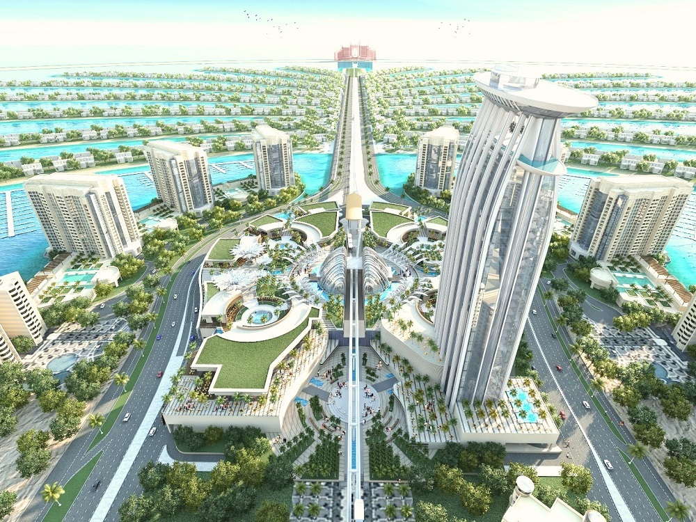 Проект The Palm Tower