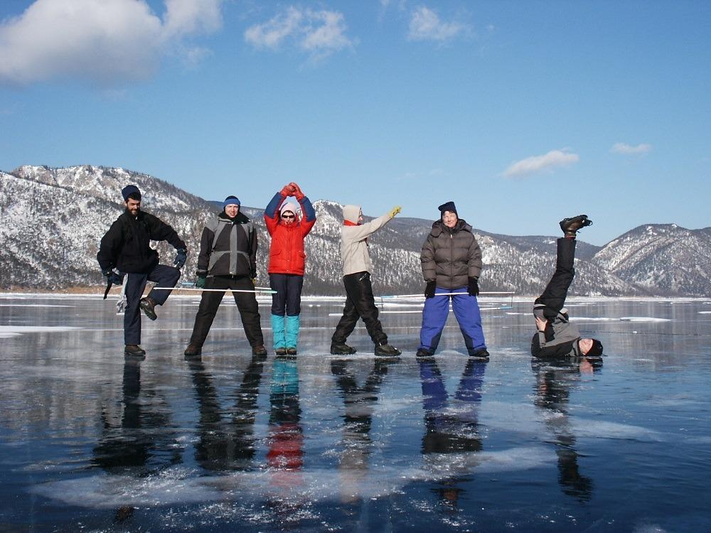 На Байкале в феврале