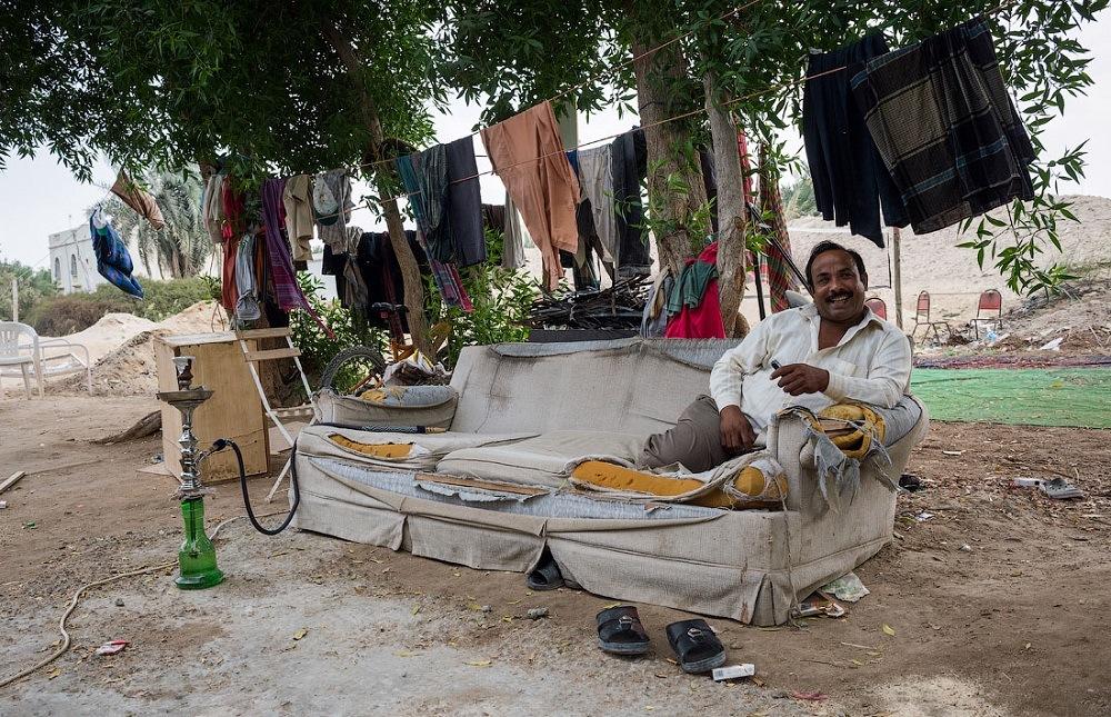 Счастливый житель Бахрейна