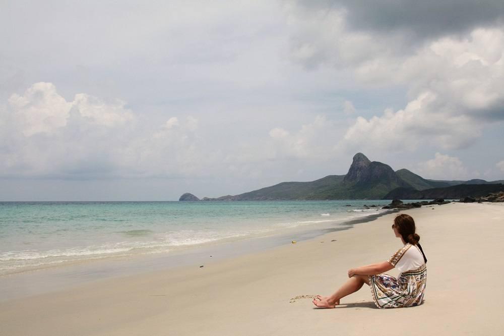 Пляж на Кондао