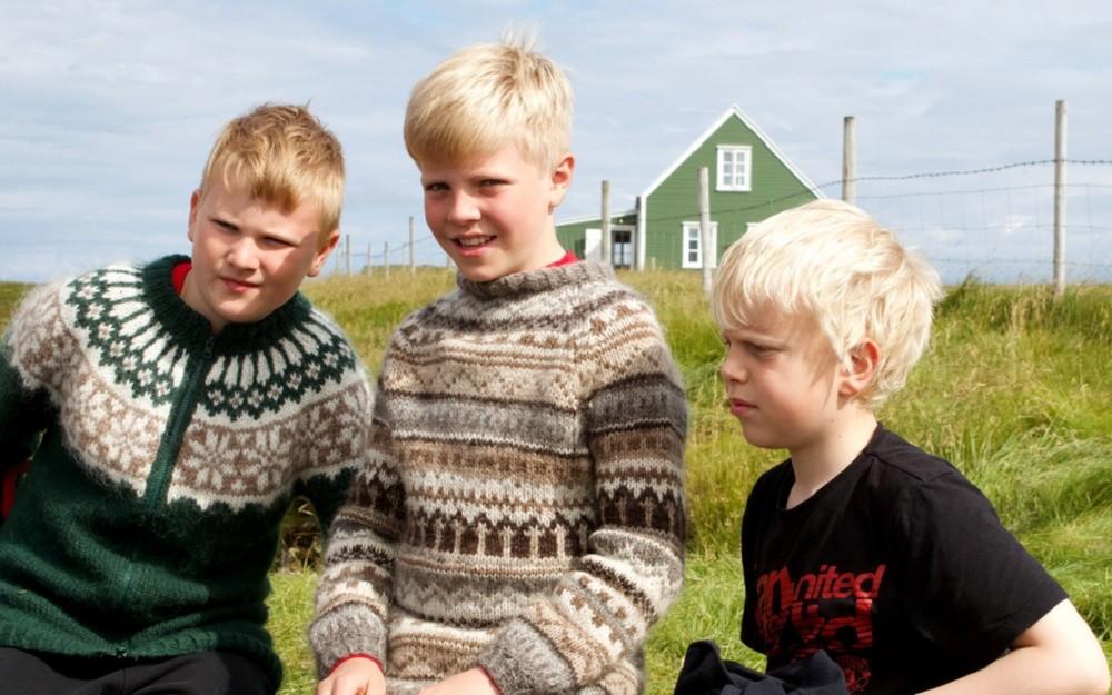 Исландские дети